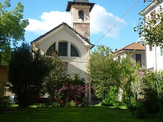 the church of san rocco and the garden