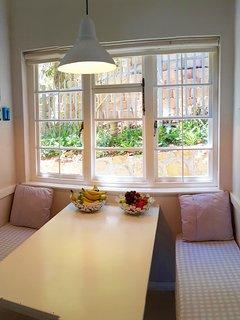 Sunny Breakfast Nook or children's dining area