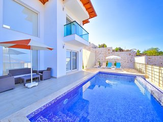 james 3 Holiday Villa With Private Swimming pool in Kaş Balayivilla com james 3