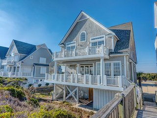 Island Drive 4366 Oceanfront! | Internet, Community Pool, Hot Tub, Jacuzzi, Fire