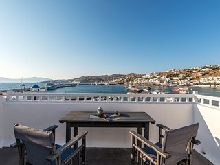 Studio at the city center with sea view !!!, Ciudad de Míkonos