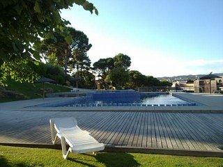 Superbe appartement avec solarium piscines à 2pas des plages