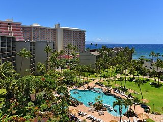 Kaanapali Shores 941- Summer Special- Ocean view- Family Fun Resort A/C