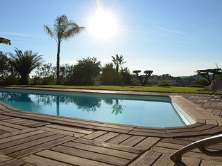Villa Angel - Panoramic view with magnificent pool and pool house
