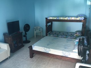 Ocean front house at charming Ciénaga!