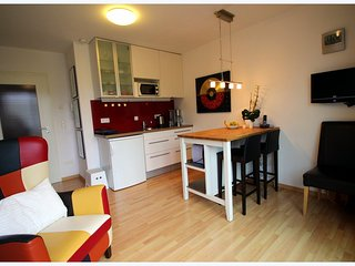 Vacation Apartment in Erlangen - 377 sqft, stylishly furnished, historic location, good for short or…