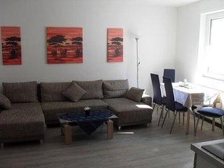 Vacation Apartment in Landstuhl - 646 sqft, separate eating area, central but quietly located (# 825)