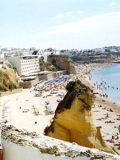 peneco beach and old town Albufeira 200meters