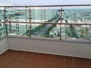 Bright apartment in Tétouan with view, Tetuán