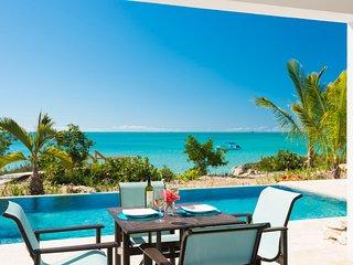 Miami Vice One ocean front brand new villa, Providenciales