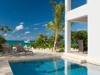 Water Edge Villa on Grace Bay Beach, Providenciales