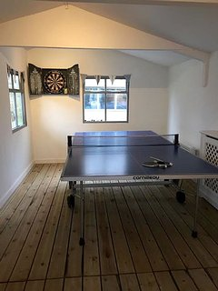 Table Tennis and Darts in Games Room