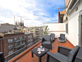 Sagrada Familia Penthouse, Barcelona