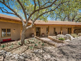 NEW LISTING! Santa Fe Charm, New Kitchen & En Suite Baths, Large Gated Yard.
