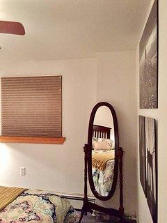 Private bedroom view #4, 'mirror, mirror...'
