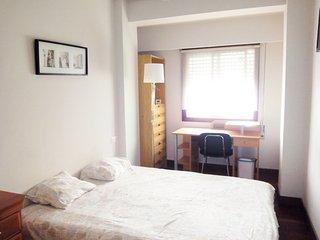 Playa de la Concha, 3 habitaciones y 2 baños, WIFI, parking para 4 personas., San Sebastian - Donostia