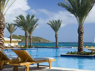 Westin Dawn Beach Resort and Spa.  St. Martin, Oyster Pond