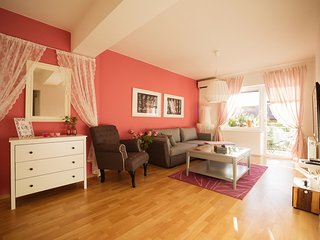 GARDEN apartment Ljubljana, cozy,  55m2, 2 bedroom, free parking