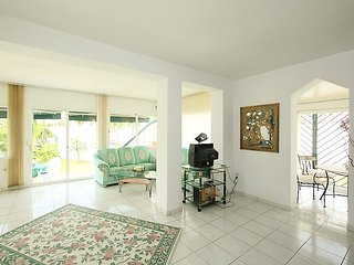 """Villa a short walk away (384 m) from the """"Playa Costabella"""" in Marbella with"""