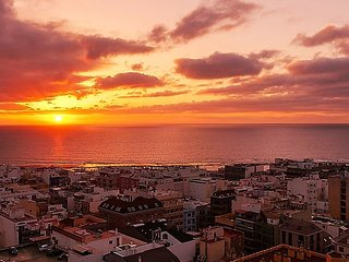 Apartment 814 m from the center of Las Palmas de Gran Canaria with Internet