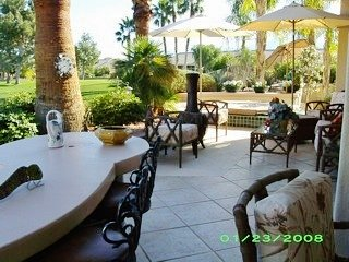 Lovely pristine large 3BR home overlooking Golf Course-South Facing Patio, Palm Desert