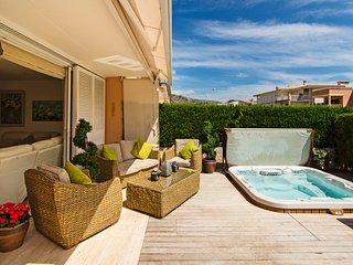 3 bedroom house in Boquer, Puerto Pollensa, Majorca,  the beautiful Pine walk