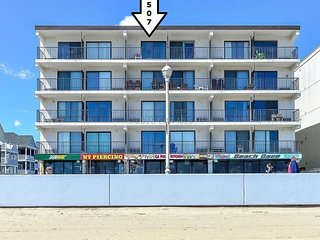 Prime Location...12th & Boardwalk...Direct Ocean Front with Amazing Views!