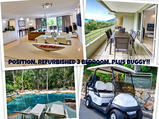 POINCIANA 101 HAMILTON ISLAND POSITION, REFURBISHED 3 BEDROOM, plus BUGGY!!, Isla de Hamilton