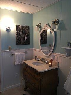 Master Bathroom - First Floor - Clawfoot tub is wonderful!