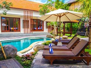 Kenari villa #3 with pool near the beach Canggu