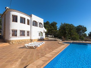 4 bedroom Villa in Benissa, Alicante, Costa Blanca, Spain : ref 2239912