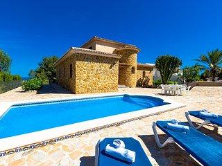 4 bedroom Villa in Benissa, Valencia, Spain : ref 5047262