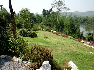 Private River Kwai side villa at Saiyok with 20 acres estate exclusively for you, Sai Yok