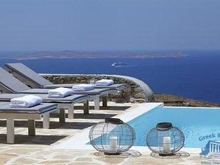 Villa in Mykonos : Agios Stefanos Area Villa Eunike