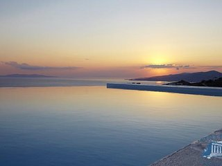 Villa in Mykonos : Agios Stefanos Area Villa Ourania, Tourlos