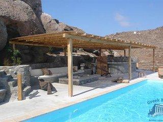 Villa in Mykonos : Ano Mera Area Villa Narkissa, Kalafatis