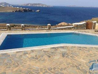 Villa in Mykonos : Mykonos Area Villa Cyanis, Tourlos