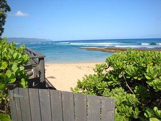 Beachfront Chun's Hideaway, Haleiwa