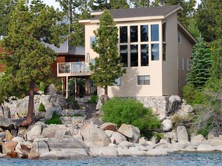 Tahoe Lakefront House with Amazing View, Zephyr Cove
