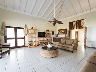 Villa with a magnificent view of the Carribean Sea, Montego Bay
