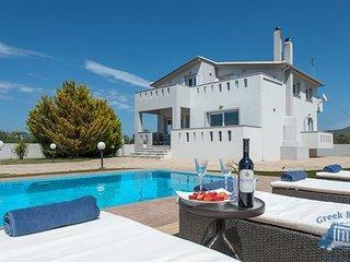 Villa in Zakynthos : Kalamaki Area Villa Helena, Laganas