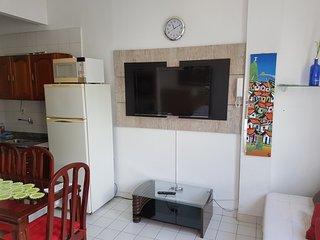 large studio flat in copacabana beach