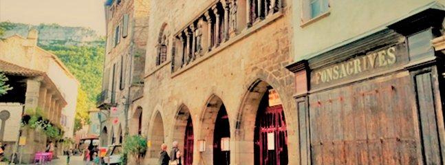 The medieval centre of Saint Antonin.