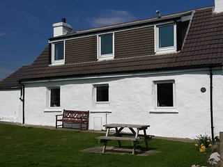 Gesto Cottage, a lovely family holiday home in the village of Stein, Waternish