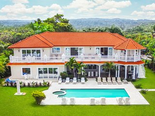 Sosua Ocean Front Bachelor Party MEGA Mansion