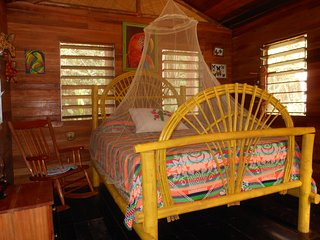 Macaw Bank Jungle Lodge - The Cotton Tree Cabana, Cristo Rey