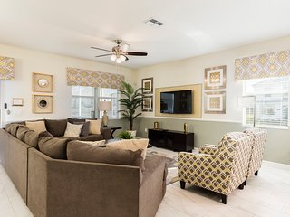 Luxury 8BR 5Bth Champions Gate Home w/Private Pool, Spa, Games & Theater Rooms
