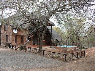 Thandiwe is een 8 persoons vakantiehuis in Marloth Park, Zuid Afrika.