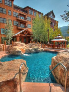 Pool & Waterslide! - This year round heated pool is among the best amenities at The Springs!