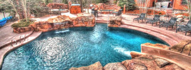 Pool - View of the largest outdoor heated pool.
